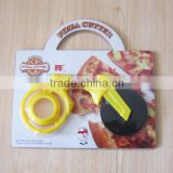 pizza wheel,stainless steel blade round pizza cutter