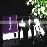 factory USB real capacity 3600mah portable power bank&battery charger for digital camera,ipod,psp