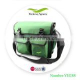 Polyester professional green hand hair tool bag