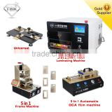 Full LCD Repairing Kit with 5 in 1 Vaccum Glass Lamination machine LCD Digizitor Separator Film Laminator for LCD Refurbish