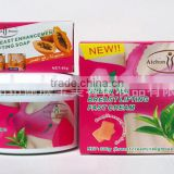 Aichun Beauty 300g green tea best breast enlargement cream + 40g breast enhancement lifting soap