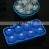 New 4.8cm diameter Silicone Ice Ball Cube Tray with small lid Freeze Mould Bar Jelly Chocolate Mold Maker