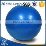 Anti-burst oval gym ball, logo printing exercise ball wholesale
