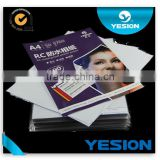 Best quality RC base 260gsm waterproof cheap Micro Porous photo paper 1.07*50m for all wide format inkjet printers Factory direc