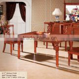 upscale dining room dining table and chair / dining table and chairs beech wood furniture / dining table set