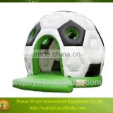 Kids commercial and residential inflatable football bouncy castles/inflatable football jumping house