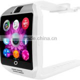 2016 Android smart watch q18 smartwatch Support NFC SIM Card Video camera Support Android/IOS Mobile phone