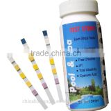 Swimming Pool Test Strips ( Total Hardness, Total Chlorine, Free Chlorine, PH, Total Alkalinity, Cyanuric Acid)