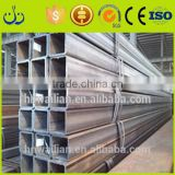 Best Price wholesale weight square hollow steel tube/ black rectangular Square pipe Tube /galvanized steel square
