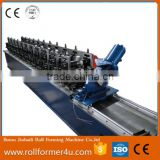 popular automatic ceiling omega channel metal stud and track roofing sheet cold roll forming machinery