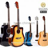 "INquiry about guitar manufacturer 41"" acoustic guitar CARAVAN MUSIC HS4111"