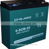 Chilwee Silicone gel Deep cycle battery for electric mower