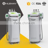 Improve Blood Circulation Rf Cavitation Cryolipolysis In One 50 / 60Hz System Cryolipolysis Fat Freezing Slimming Machine Reduce Cellulite