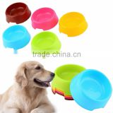 Plastic Candy Color Pet Cat Dog Puppy Rabbit Animal Practical Food Water Bowl