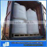 Square 90*90*140cm bulk container liner bag with cover