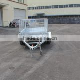 hot sale !!!!ATV 6x4 hot dipped galvanized cage trailer;box trailer;tipping trailer;car trailer;atv trailer