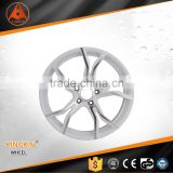 Forged Aluminum Wheel car wheel rims / Sliver Color Wheel for cars