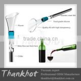 Food grade Wine chill stick with gift box
