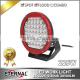 9.3in 225W LED driving light offroad headlight farm agriculture truck trailer high power headlight spot lamp