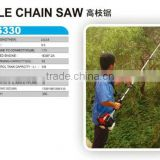 gas powered pole chain saws LCS330
