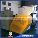 waste pe pp film single shaft shredder/waste HDPE LDPE PET plastic scraps single shaft shredder