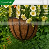 Half Round Wire Wall Baskets with Coco Liners