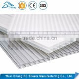 custom decorative hard plastic swimming pool cover polycarbonate sheet