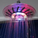 LED Muti-colorful Temperature Sense Faucet, LED Color Changing Bathroom Shower Head, LED Flashing Ceiling Shower Head For Sale