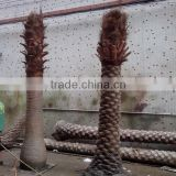 Q020214 garden decoration artificial tree no leaves plastic palm tree natural fake tree trunks