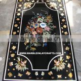 Marble Inlay Dining Table Tops, Marble Inlay Table Top