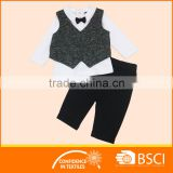 Neck Tie Vest jacket baby gental custom made boys formal wear