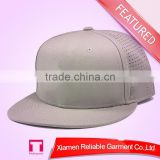2014 custom baseball cap closed back/ OEM 5/6 panel snapback hat & cap with custom embroidery applique logo /leather back strap