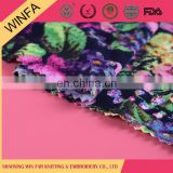 Trade Assurance Alibaba china jersey printed knit dress rayon fabric