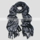silver thread scarf black evening stoles