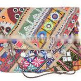 Vintage Vintage purse Messenger Cross body Tribal Banjara Clutch bag ethnic Old COIN Gypsy Indian Banjara clutch kutch Wholesale