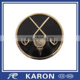 cheap wholesale golf gloves ball marker with custom enamel