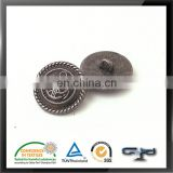 Classic black plating china factory metal sewing button
