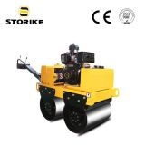 600MM Width Hand Held/Push Double Wheels Vibrating Concrete/Cement  Compactor Road Roller CE