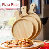 Customize Solid Wooden Pizza Tray, Wooden Pizza Board