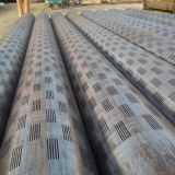 Stainless Steel Perforated Pipe Slotted Casing