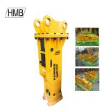 Silenced type HMB1000 for 10-15 ton excavator