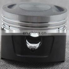 Motorcycle Piston with Gray Top