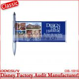 Disney factory audit manufacturer's banner ball pen 142174