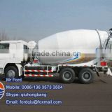 HOWO 12tons concrete truck mixer specifications 0086-13635733504