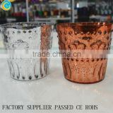 latest copper color elephant antique glass candle bowls unity candle holder                                                                         Quality Choice