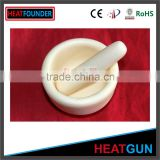 CHEAP PRICE WITH HIGH QUALITY ALUMINA CERAMIC TUBE AND PESTLE ENGRAVED MORTAR AND PESTLE