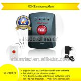 Good quality GSM Elderly Guardian, Senior Guard, SOS Panic Button, Medic Alert, Home Safety Alarm System--YL-007EG