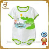 New design wholesale OEM service free samples softextile baby romper animal baby clothing
