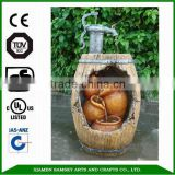 2015 Hot sales urn fountain natural stone garden fountains                                                                         Quality Choice