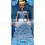 wholesale Princess Cinderella Doll For Girls Bonecas Cinderella Toys Children Cosplay Poupee Movies Cinderella Girls Doll